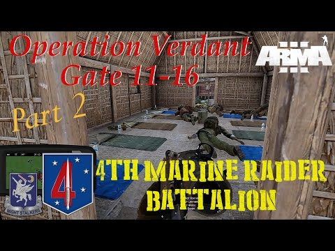 4th Marine Raider Battalion, Op Verdant Gate, 11-16 Pt 2