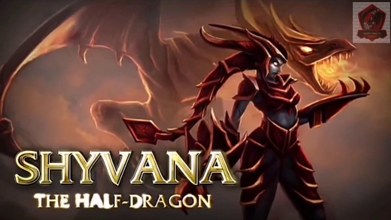 League Of Legends Wildrift Shyvana Champion Spotlight