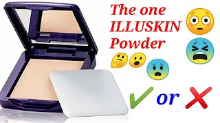 Oriflame | The One ILLUSKIN Powder | Sun protection 10SPF |   Honest review | 😯😯😮😮🤔🤔😱😱😳