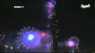 DUBAI FIREWORKS 2012 - BURJ KHALIFA DOWN TOWN - NEW YEAR CELEBRATIONS - SATHAR AL KARAN