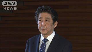 新型コロナ担当西村大臣「自宅待機」で総理コメント(20/04/25)
