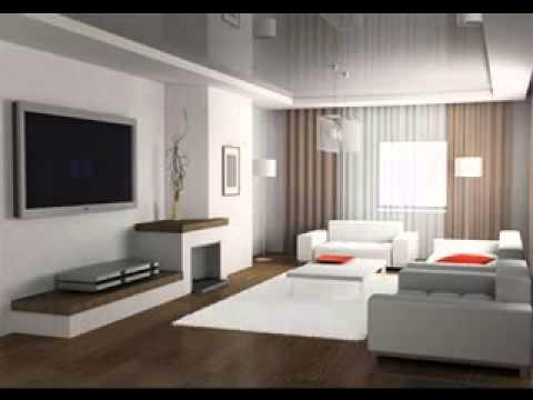 Modern minimalist living room interior design - YouTube on Minimalist Living Room Design  id=79994
