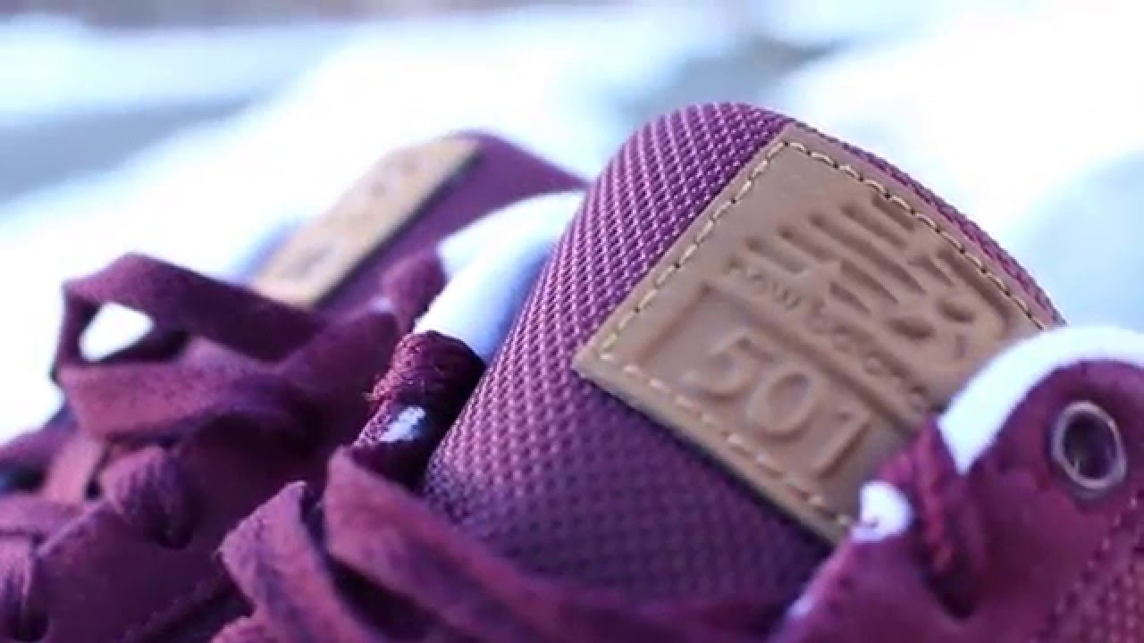 new balance 501 purple