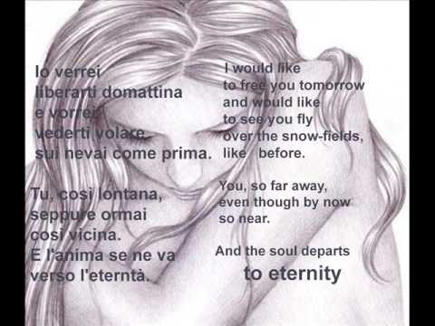 Rapsodia  -  Andrea Bocelli (English Lyrics)