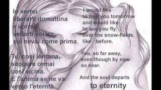 Rapsodia  -  Andrea Bocelli (English Lyrics)