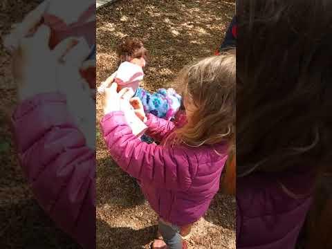 Outdoor play at Open door school