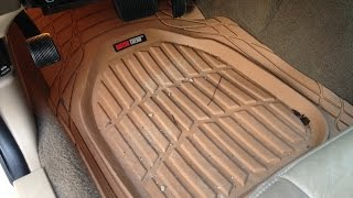 Motor Trend FlexTough Rubber Floor Mats Unboxing & Review