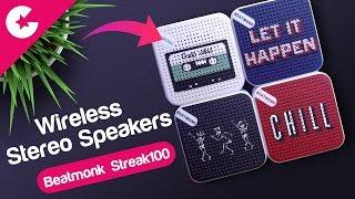 True Wireless Stereo Bluetooth Speakers - BEATMONK Streak 100 Review!