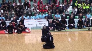 第16回世界剣道 日本対ノルウェー Japan vs Norway [16th wkc]