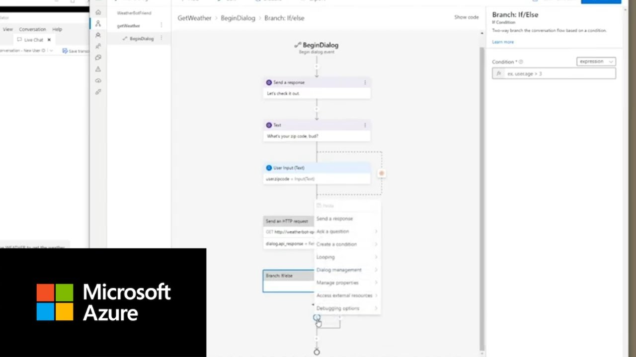 Create a Weather Bot with Microsoft Azure's Bot Framework Composer