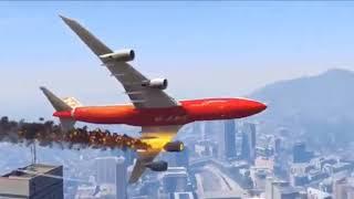 Cận cảnh vụ tai nạn máy bay tại TOKYO - NHẬT BẢN