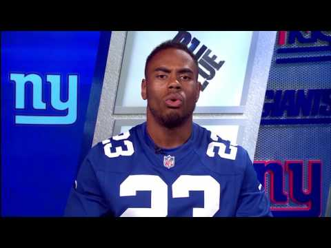 New York Giants running back Rashad Jennings introduces the USA Football Heart of a Giant presented by Hospital for Special Surgery.