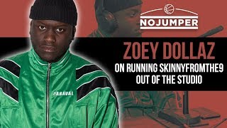 Zoey Dollaz on Running Skinnyfromthe9 Out Of The Studio