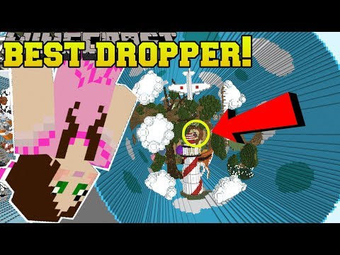 Minecraft: THE BEST DROPPER!! (AMAZING LEVELS!) DROPPER REVOLUTION - Custom Map [1]