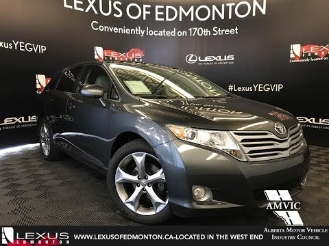 Used Gray 2011 Toyota Venza Walkaround Review Airdrie Alberta