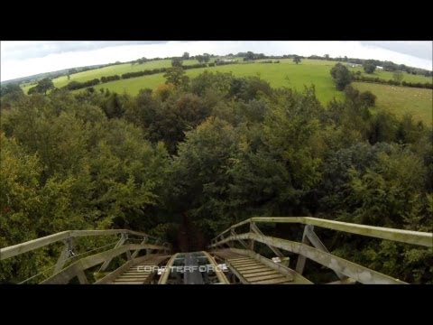 The Ultimate front seat on-ride HD POV Lightwater Valley