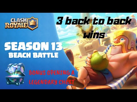 Clash Royale Gameplay 2020 | Bonus Legendary Chest Opening | iOS Games | Season 13 Shipwreck Island