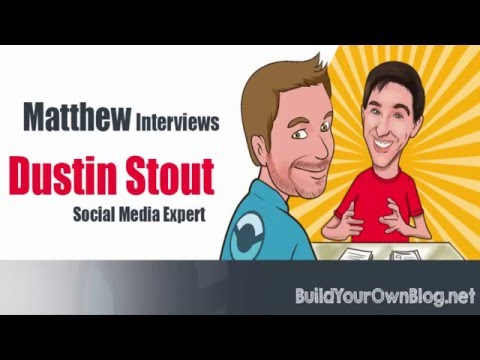 Social Media Marketing Tips for Higher Blog Traffic: Dustin Stout [Interview]