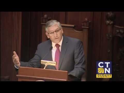 Senate Republican President Pro Tempore Len Fasano Opening Day 2017
