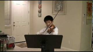 Happy Birthday Music on Violin