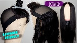 DETAILED HOW TO MAKE A LACE CLOSURE WIG | BEGINNER FRIENDLY TUTORIAL