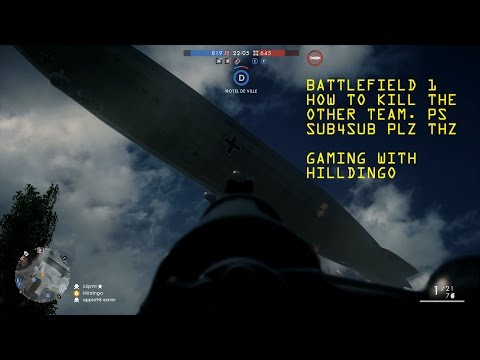 How To Take Down The Behemoth [Battlefield 1] Madness |