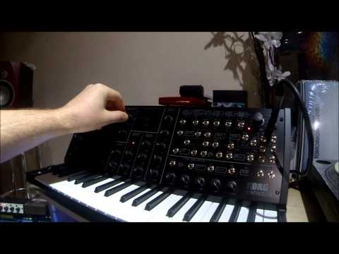 Brand new KORG MS20 MINI - soundcheck