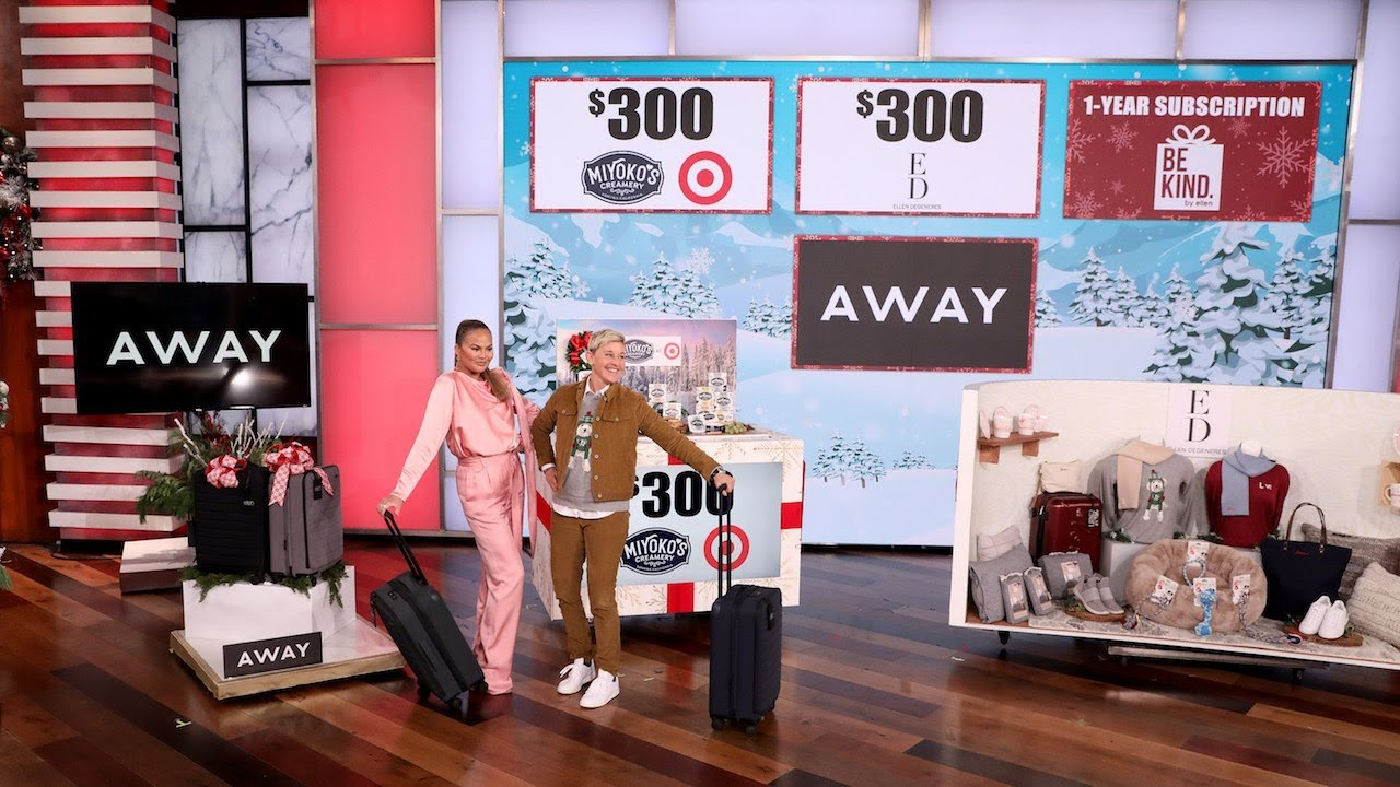Chrissy Teigen & Ellen Share Their Favorite Things for Day 7 of 12 Days!