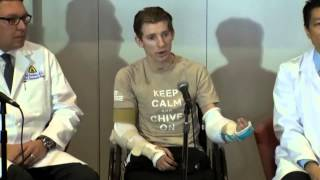 US soldier undergoes successful double arm transplant