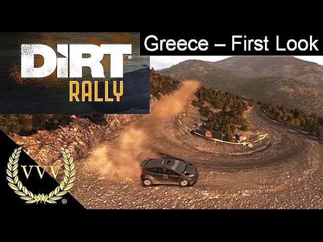 Dirt Rally - Greece First Look