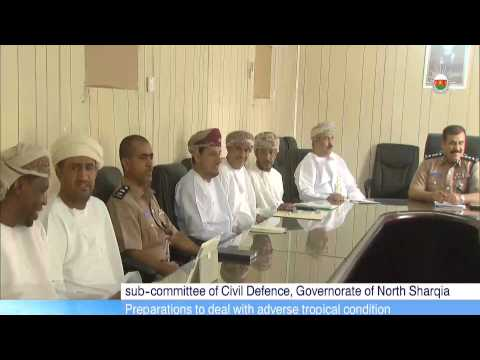 sub-committee of Civil Defence, Governorate of North Sharqia