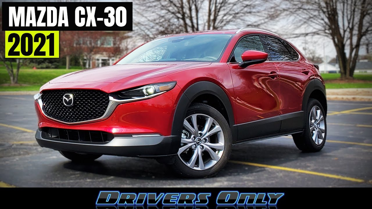 2021 Mazda Cx 30 This Fun And Stylish Suv Gets A New Turbo Engine Youtube