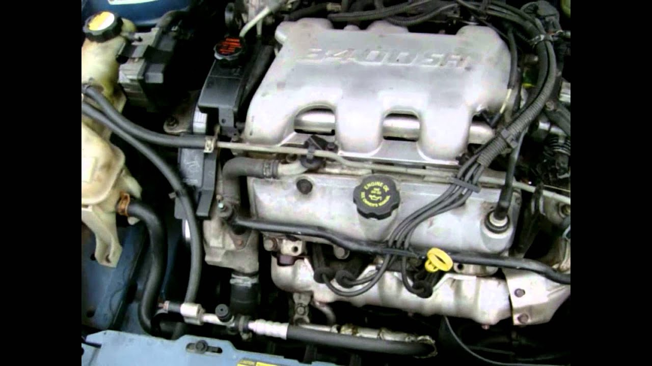 2007 saturn aura 3 5 engine water pump diagram 3400 gm engine 3.4 liter motor explanation and discussion ... #3