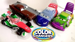 Wingo Color Changers Cars Raoul Caroule Disney Pixar Cars2 Cambiadores Multicolor