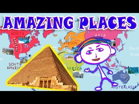 Geography Explorer: Amazing Places & Buildings - Educational Videos for Children, Lessons for Kids