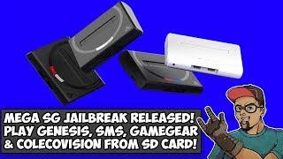 Analogue Mega SG Jailbreak! Play Coleco, Sega Genesis, Master System & Game Gear From SD Card!