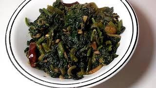 Lau pata bhaji recipe bangla