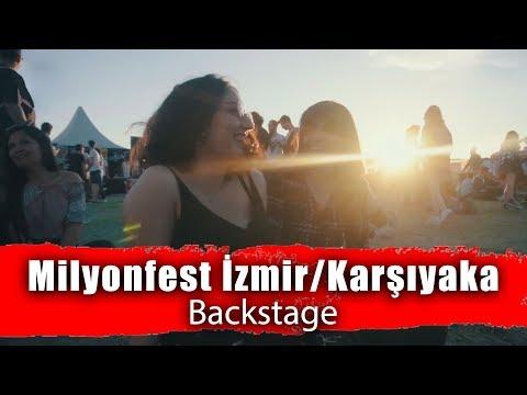 Milyonfest İzmir Karşıyaka - Backstage