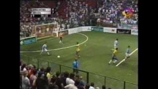 MARADONA-Showbol Argentina 7 Brasil 7