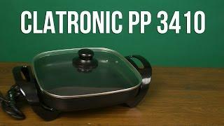 Розпакування CLATRONIC PP 3410