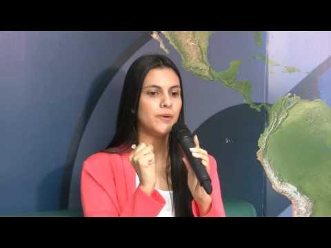 Johanna Alvarado de Celeste Cardona, en la Maratón de Emprendimiento - Negocios en Tm & Creame