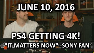 The WAN Show - We Have 4K Playstation Details! Who Cares?? - June 10, 2016