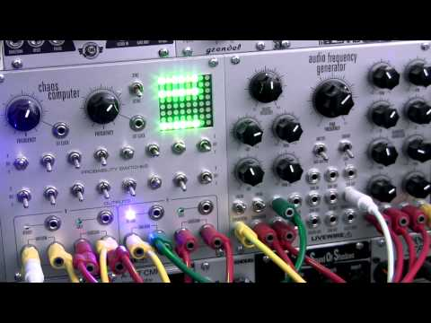 Modular Wild Presents SOUNDS-Livewire Chaos Computer VS AFG Animated Pulses