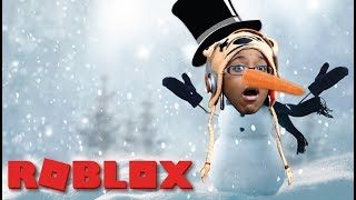 I'M FROSTY THE SNOWMAN | WOULD YOU RATHER | ROBLOX GAMEPLAY