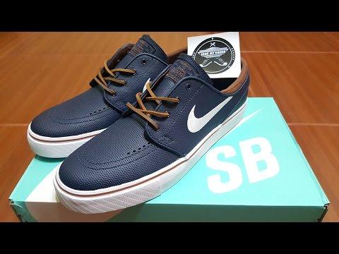 Unboxing Nike SB Stefan Janoski OG ObsidianWhiteRustic Blue 833603 412