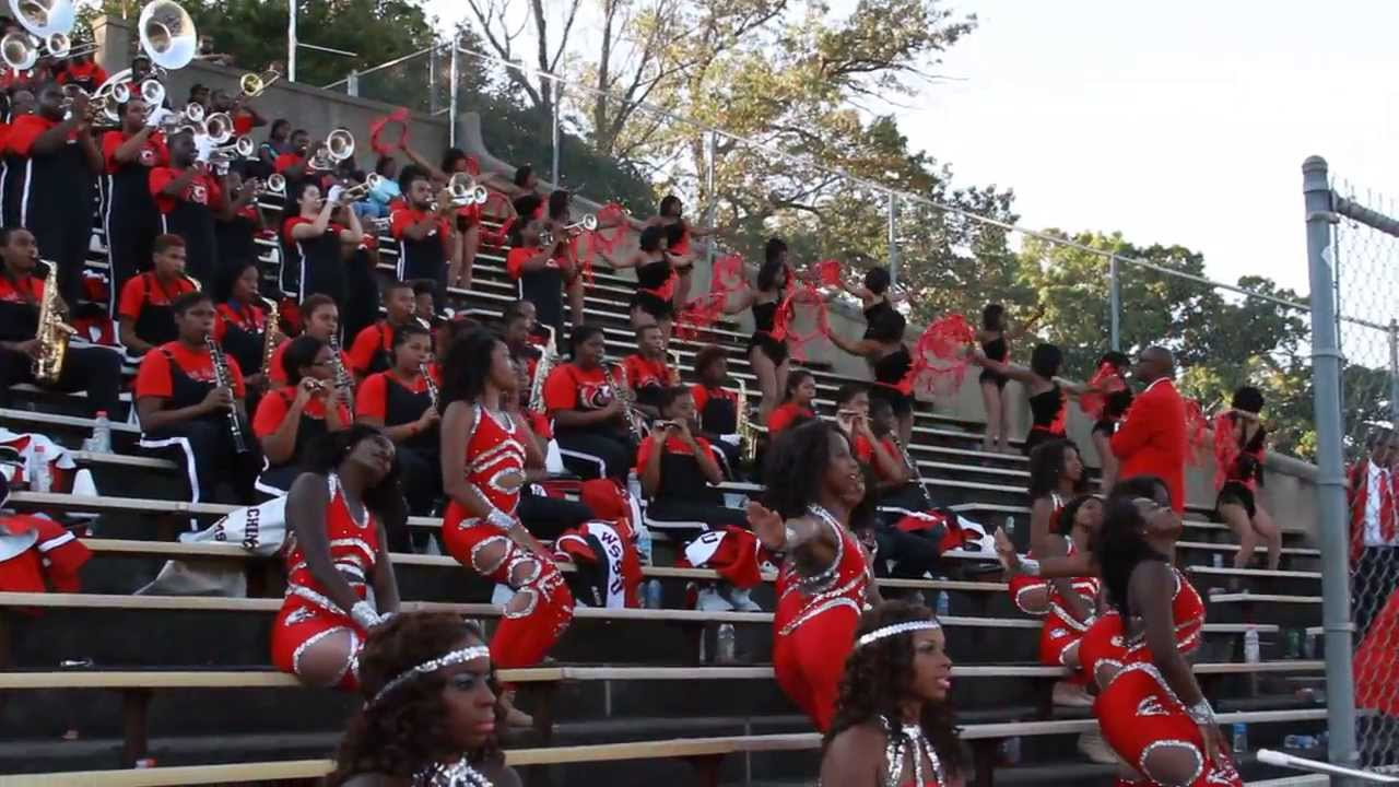 2013 WSSU Marching Band performs, Cry Together - YouTube