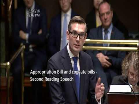 NSW Budget Speech 2018