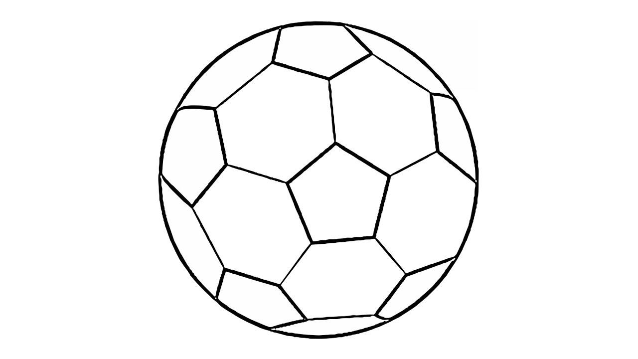 Fußball Zeichnen