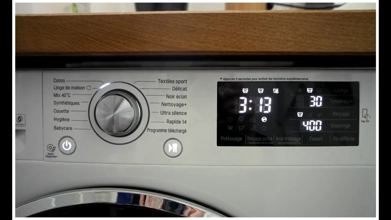 Location Lave Linge Test Washing Machine Lg F84902wh Direct Drive