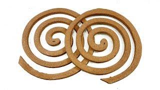 Mosquito coil craft idea | DIY arts and crafts | Best craft idea